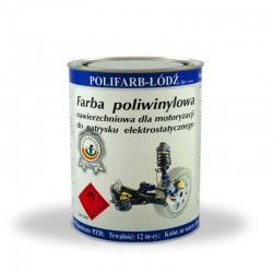 Polyvinyl topcoat paint...