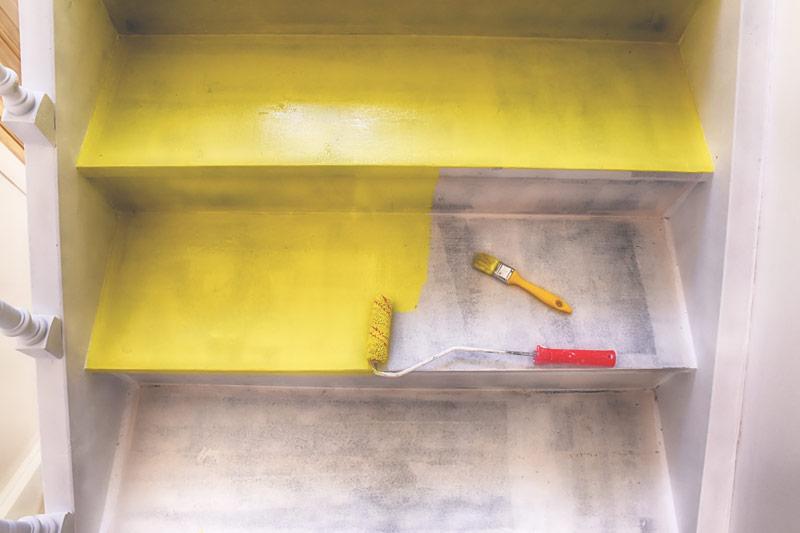 Antypoślizgowa farba do schodów betonowych