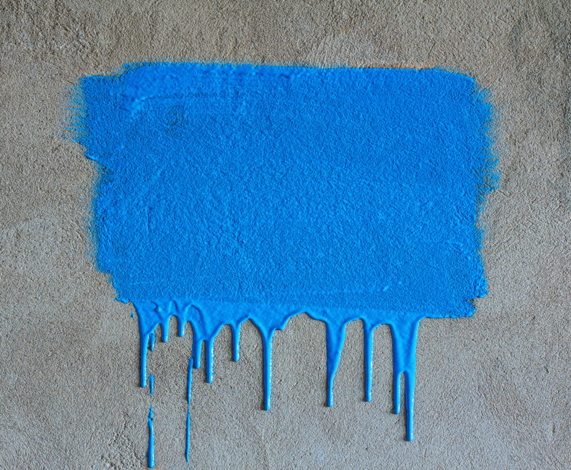 Farba do malowania betonu na zewnątrz – kolor niestandardowy.