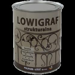 Lowigraf – farba strukturalna do metalu - polifarb.lodz.pl